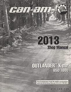 2013 CAN-AM ATV OUTLANDER X mr 650/1000 SHOP MANUAL 219 100 738 (149)