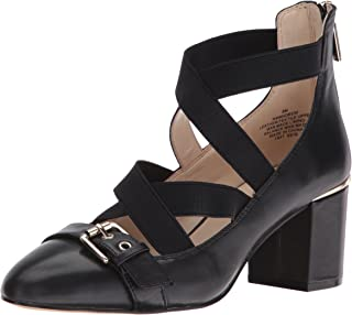 Nine West Womens Andrew Leather Andrew Leather Black Size: