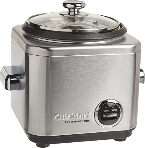 Cuisinart-CRC-400-Rice-Cooker,-4-Cup,-Silver
