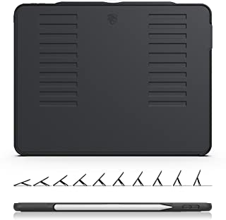 ZUGU CASE The Muse Case - 2018 iPad Pro 12.9 inch 3rd Gen (New Model) - Very Protective But Thin + Convenient Magnetic Stand + Sleep/Wake Cover (Black)