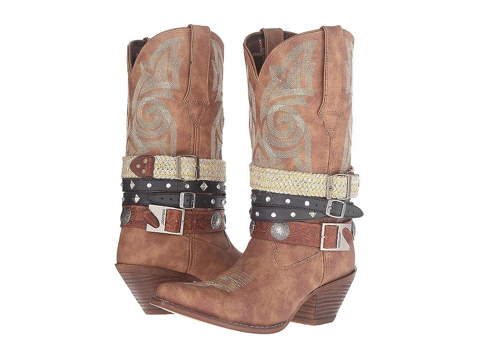Durango Crush Western Accessory 12 (Tan) Cowboy Boots