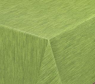 Toile Cirée Nappe unicolore Unicolore Vert Uni 369 rectangulaire environ ovale