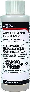 Winsor & Newton 3230895 Brush Cleaner & Restorer - 4 oz. bottle