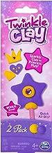 Twinkle Clay - Yellow and Purple 2pk with Bonus Wand