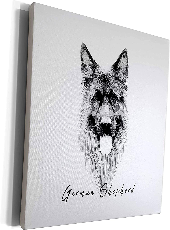 3dRose Alexis Design - Dog German Sheph Elegant Adorable Breed 70% OFF Max 90% OFF Outlet