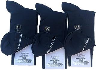 Candados Socks Milano 6 pares de calcetines cortos de algodón hilo de Escocia elástico de verano en fantasía