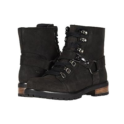 UGG Fritzi Lace-Up Boot (Black) Women