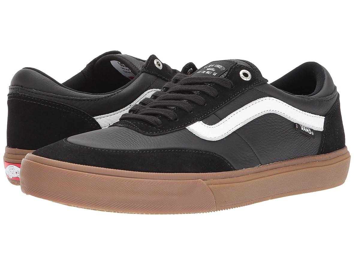 六月腹部海軍(バンズ) VANS メンズスニーカー?靴 Gilbert Crockett Pro 2 Black/White/Gum 8.5 (26.5cm(レディース27cm)) D - Medium