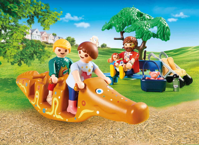 PLAYMOBIL City Life - Avontuurlijke speeltuin 70281: Amazon.es: Juguetes y juegos