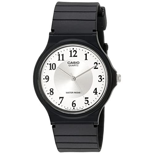 Casio Womens MQ24-7B3LL Classic Black Resin Band Watch