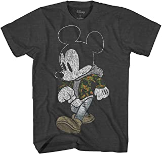 Mickey Mouse Camo Camouflage Disneyland World Retro Classic Vintage Tee Funny Humor Adult Mens Graphic T-Shirt Apparel