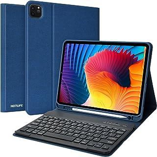 iPad Pro 11 キーボードケース 2020/2018 iPad 10.9(Air4)キーボードケース iPad Pro 11インチ / iPad 10.9インチ 兼用キーボードカバー ペンシル充電対応 アイパッドプロ11 inchカバー...