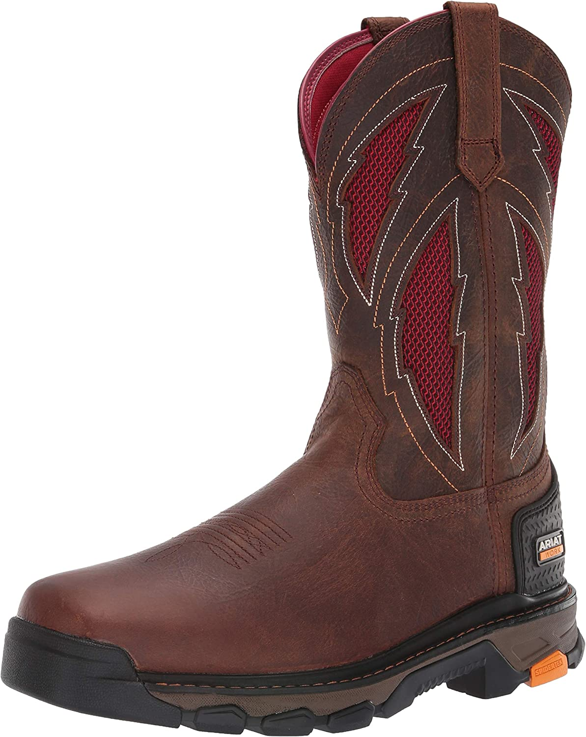 ARIAT Men's Intrepid Venttek Lightning Work Boot Industrial