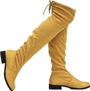 MVE Womens Jalen-h4 Yellow Size: 6.5