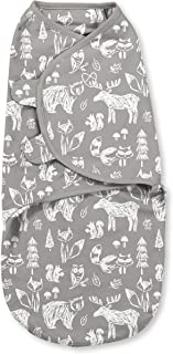 SwaddleMe Original Swaddle – Size Small, 0-3 Months, 1-Pack (Chalkboard Woodland)