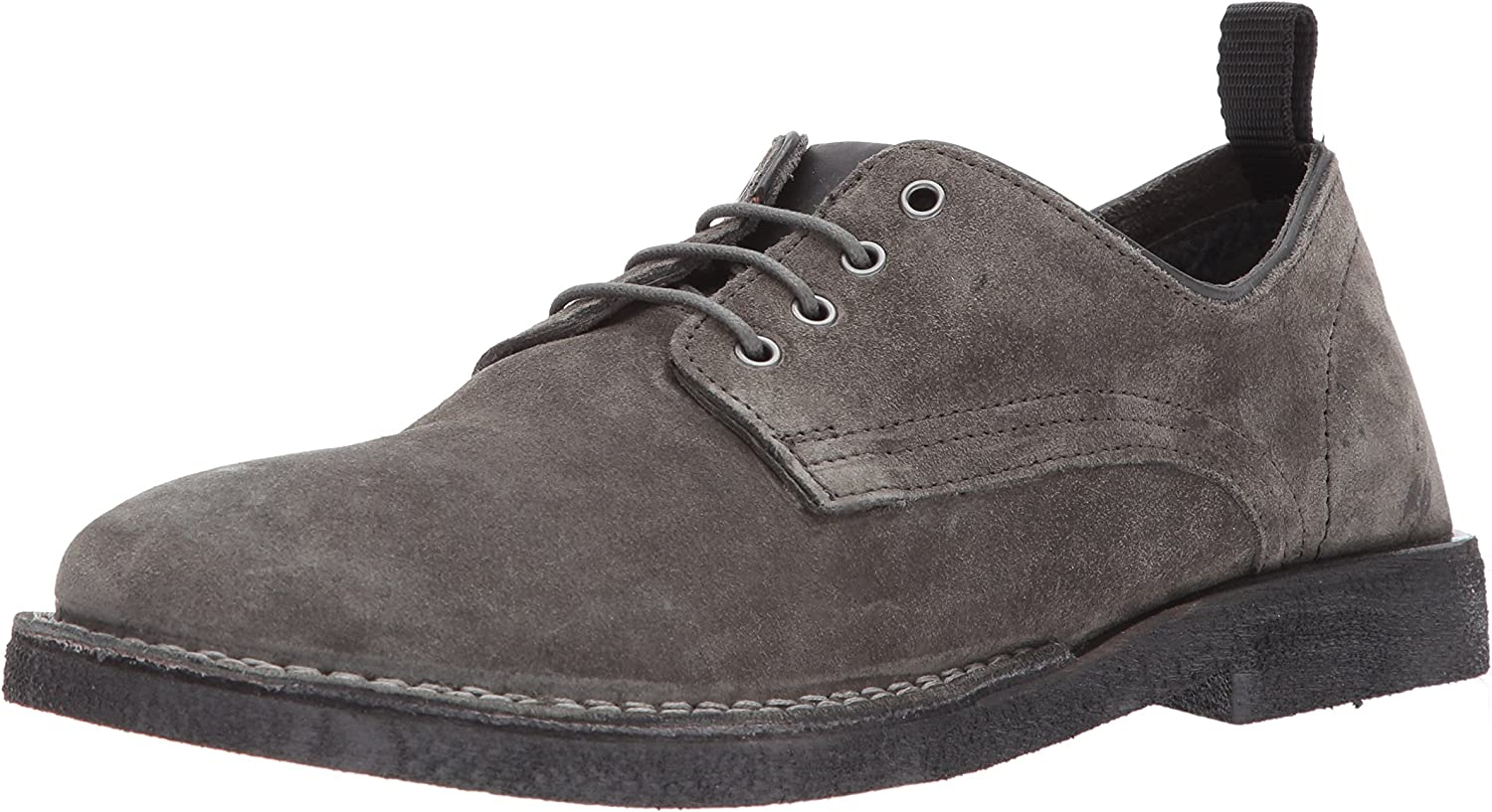 Steve Madden Men's Lowman Oxford, Dark Grey Suede, Suede, Suede, 10 US/US Size Conversion M US B06XYC5F4V  66c85c