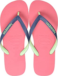 Havaianas Top Mix, Chanclas Unisex Adulto, Porcelana Rosa, 46/48 EU