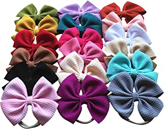 Toptim Baby Girl's Headbands and Bows for Newborn Infant Toddler Photographic Accessories
