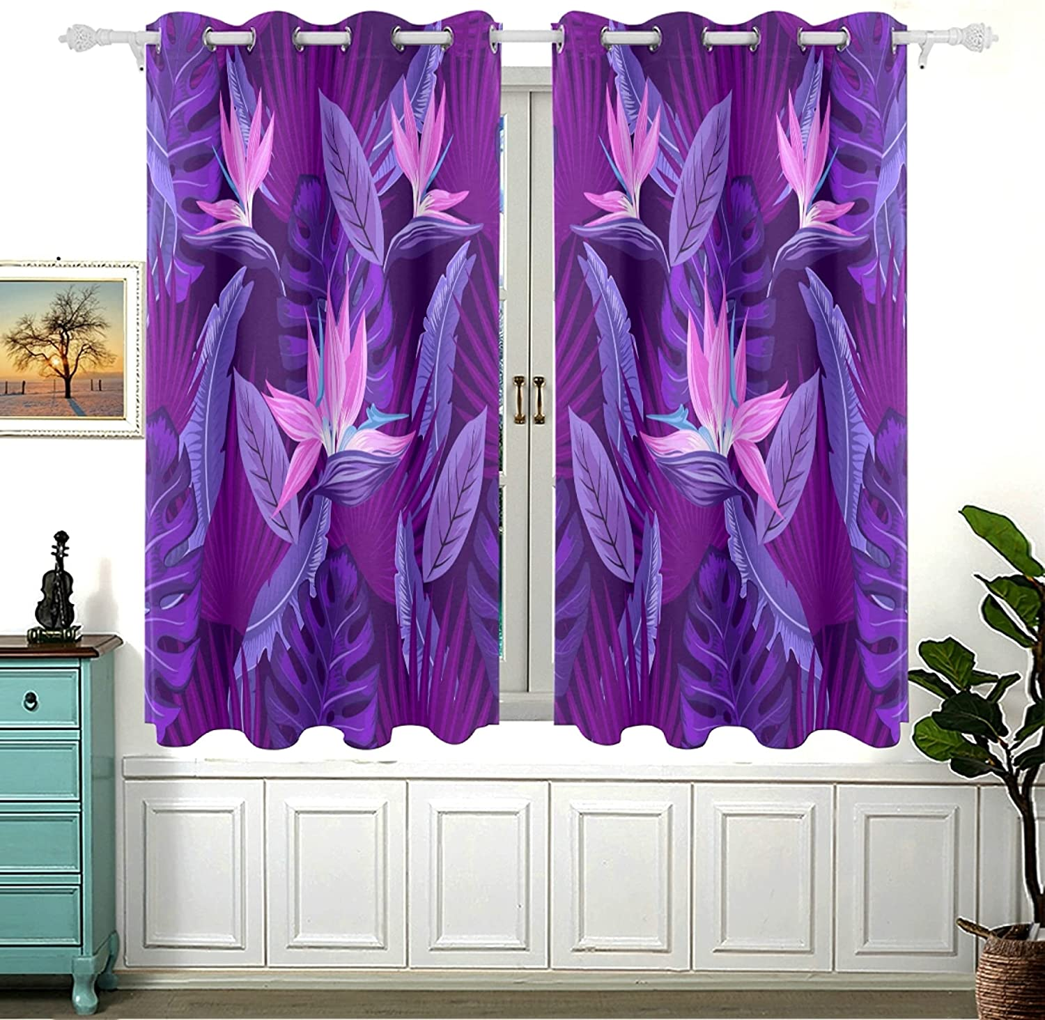 Spring Romantic Sweet Flower Lilac Room for De Oklahoma City Mall Darkening sold out Bedroom