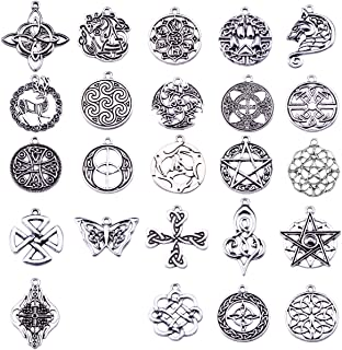 Celtic Knot Irish Charms,Pagan Charms for Jewelry Making