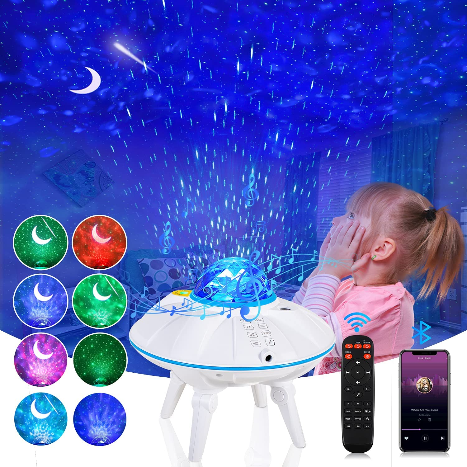 Selling Baltimore Mall Star Projector Galaxy Starry Night wi Light
