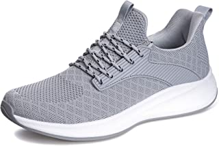 Mens Athletic Walking Shoes - Running Tennis Shoes...