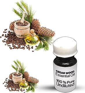 Cedar Wood Essential Oil / 100% Pure Cedar Wood Undiluted Essential Oil Premium Quality (10 ML)