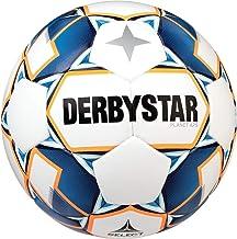 Derbystar Volwassen Planet APS, 1028500167 Voetbal, wit blauw oranje, 5