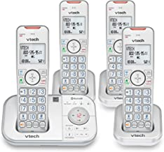 VTECH VS112-47 DECT 6.0 Bluetooth 4 Handset Cordless Phone for Home with Answering Machine, Call Blocking, Caller ID, Inte...
