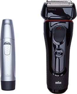 Braun 博朗 Series 5 电动剃须刀 5030s,带理发器 鼻/耳朵