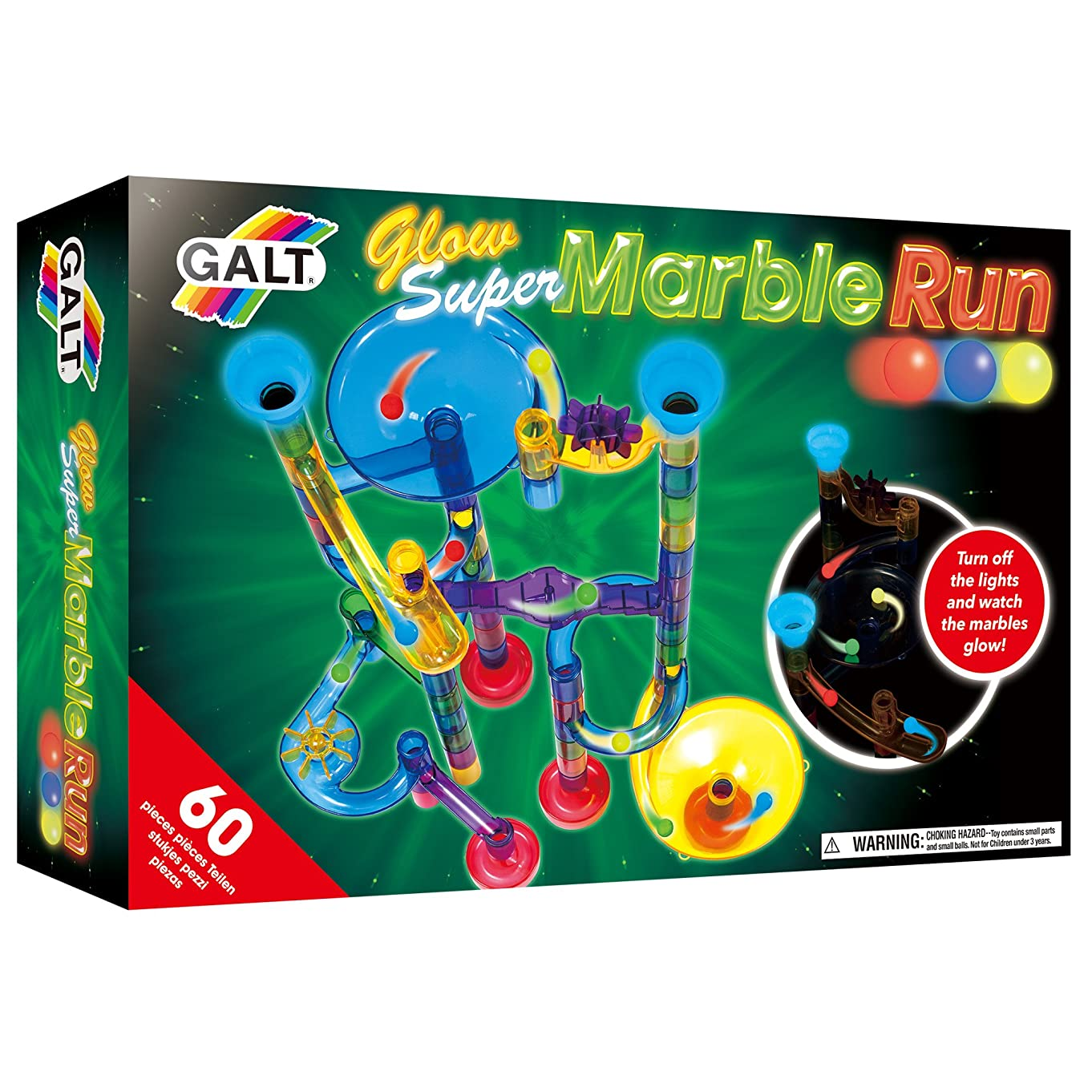Galt Toys, Glow Super Marble Run
