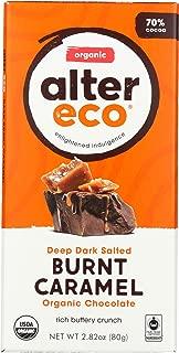 Alter Eco Dark Salted Burnt Caramel Organic Chocolate, 2.82 oz