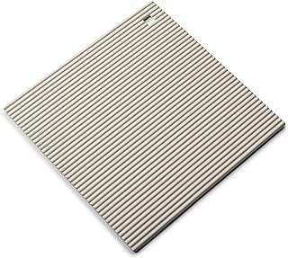 """Zeal Silicone Heat Resistant Non-Slip Trivet - 9""""/22cm (Cream)"""