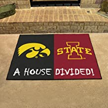 Fan Mats Iowa-Iowa State House Divided Rug, 34