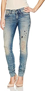 G-Star Raw Womens 60883-8592-8085 Midge Cody Mid-Skinny Jean in GAVI Superstretch Jeans - Blue