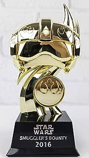 Funko Star Wars Rebel Pilot Boss Trophy 2016 Smuggler's Bounty Exclusive Gold Figurine