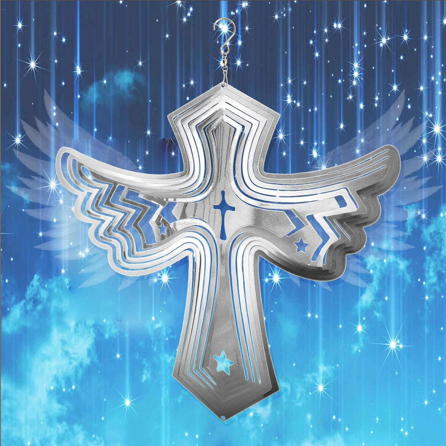 FONMY 55% OFF Wind Spinner-Angel Wing Christmas Indoor Decor. Worth Gift Max 86% OFF