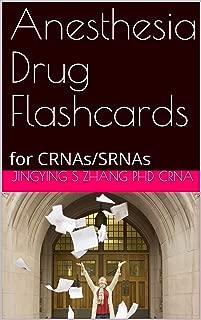 Anesthesia Drug Flashcards: for CRNAs/SRNAs