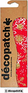 décopatch Red Floral Paper, 30 x 40 cm, Pack of 3 Sheets