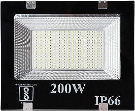 DesiDiya® 200 Watt Ultra Thin Slim Ip66 LED Flood Outdoor Light Cool White Waterproof- 200W (Pack of 1)
