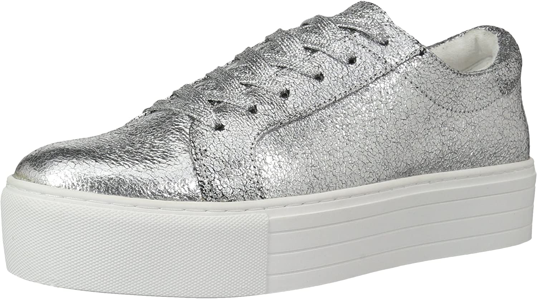 Kenneth Cole New York Womens Abbey Platform Lace Up Sneaker Metallic- Techni-Cole Sneaker