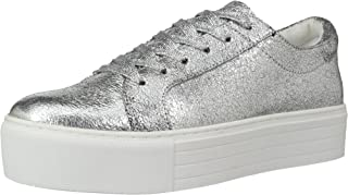 Kenneth Cole New York Womens KL02002MB Abbey Platform Lace Up Sneaker Metallic- Techni-Cole Silver Size: 5.5 US