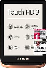 PocketBook e-Book Reader 'Touch HD 3' (16 GB Speicher; 15,24 cm (6 Zoll) E-Ink Carta Display; SMARTlight; Wi-Fi; Bluetooth...