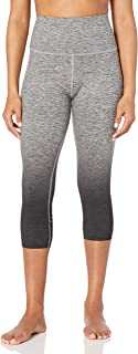Core 10 Womens DP0003 Yoga Foldover High Waist Capri Legging-22 Leggings