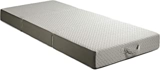 Milliard 6-Inch Memory Foam Tri Folding Mattress with Ultra Soft Removable Cover and..