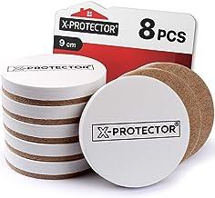 Meubelsliders X-PROTECTOR Sliders voor harde vloeren Best 8-Pack 3 1/2 inch Heavy Moving Pads - Sliders voor Meubels. Beig...