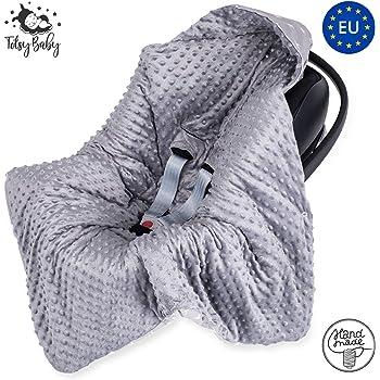 gris motif étoiles Réversible Siège Voiture Bébé Wrap//baby blanket