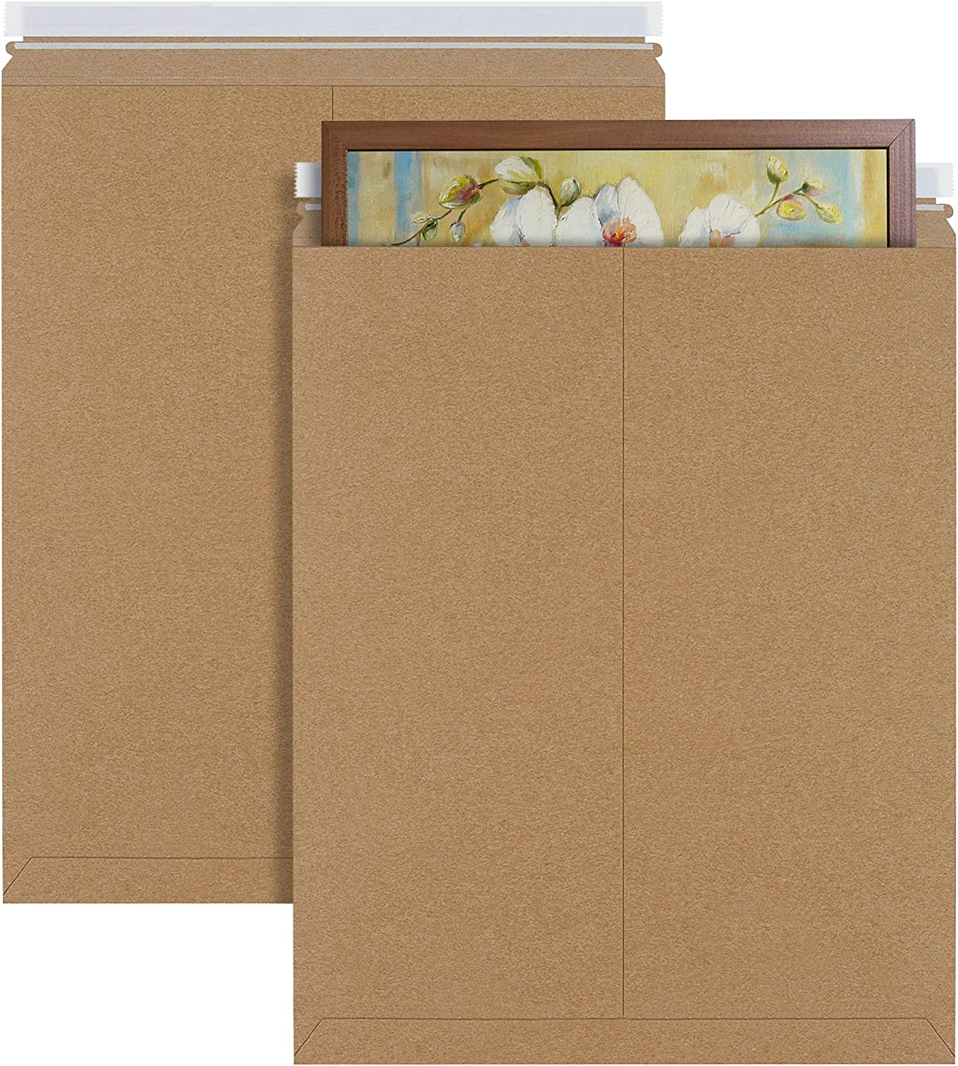 Baltimore Mall APQ Pack of 5 Kraft Rigid Mailers Japan's largest assortment 21. x 17 envelopes Paperboard