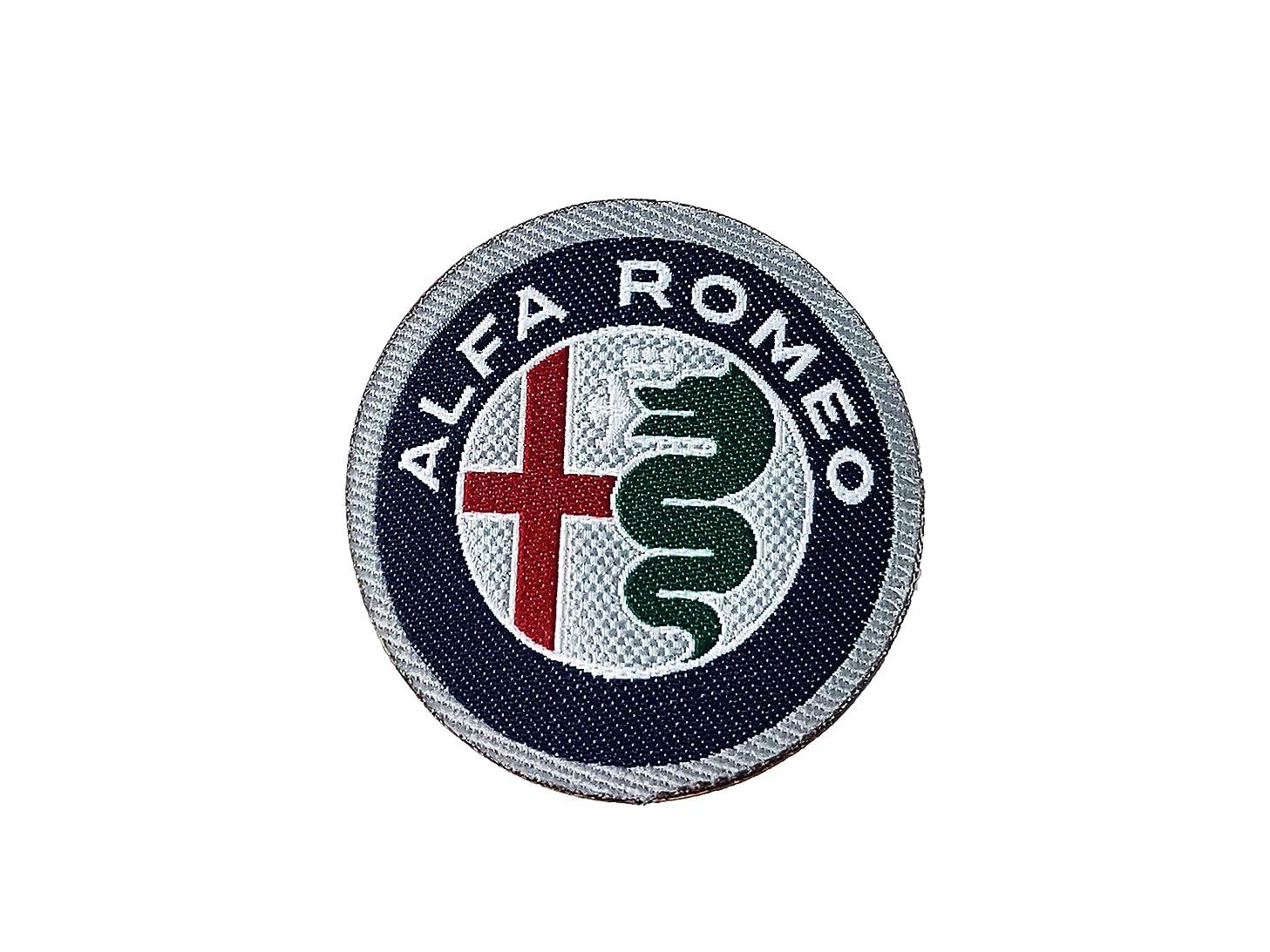 Alfa Romeo 21824 Official Logo Sticker Patch Diam. 50mm