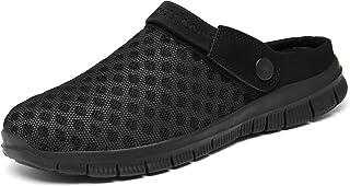 CELANDA Slippers Unisex Clogs Breathable Mesh Slippers Summer Beach Sandals Non-Slip Bathing Shoes Garden Shoes Slip-On Aq...